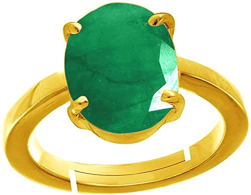 4.00 Ratti Green Shell Natural Emerald Panna Panchdhatu Adjustable Ring for Men and Women (B07YCNH5LX) Amazon Price History, Amazon Price Tracker