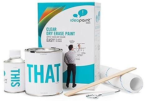 Amazon.com: IdeaPaint crear transparente pintura pizarrón de ...