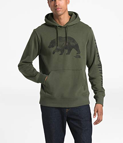 The North Face Men's Bearinda Pullover Hoodie, New Taupe Green, M