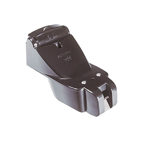 Garmin 8-Pin Plastic Transom Mount Transducer with Depth/Speed (Transom Mount Plastic)