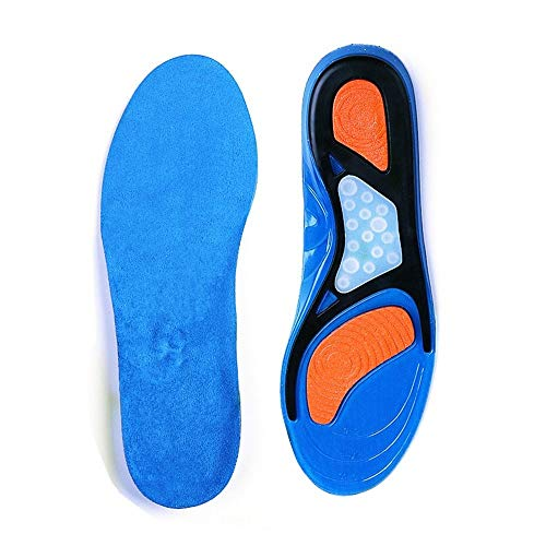 GAOAG Shoes Insoles,Plantar Fasciitis, Running, Flat Feet, Heel Spurs & Foot Pain,Comfortable Insoles for Men and Women for Everyday Use(Mens 6.5-10, Womens 7.5-11)