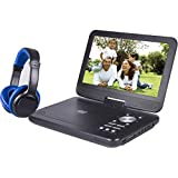 ONN SDVD1055-ONN 10in Bluetooth Portable DVD Player Kit with Bluetooth Headphones (Renewed)
