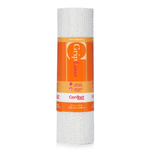 Con-Tact Brand Grip, 05F-C6F59-06, Non-Adhesive Non-Slip Shelf Liner and Drawer Liner, Taupe, 20 x 5