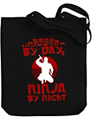 Teeburon Real Estate Investor by day, ninja by night Canvas Tote Bag