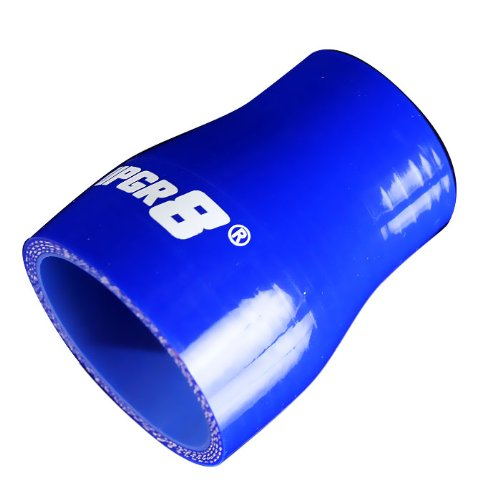 (Upgr8 Universal 4-Ply High Performance Straight Reducer Coupler Silicone Hose (1.5