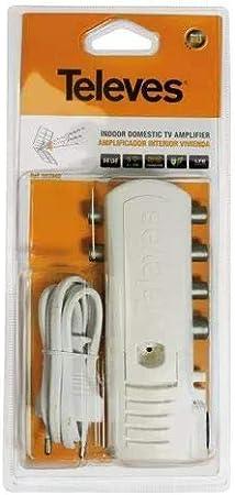 TELEVES 5529 - Amplificador Antena TV 4 Salid