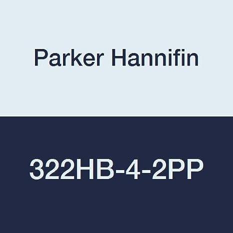 1//4 Hose Barb x 1//8 Hose Barb Polypropylene Pack of 5 Black Parker Hannifin 322HB-4-2PP-pk5 Par-Barb Union Connector Fitting