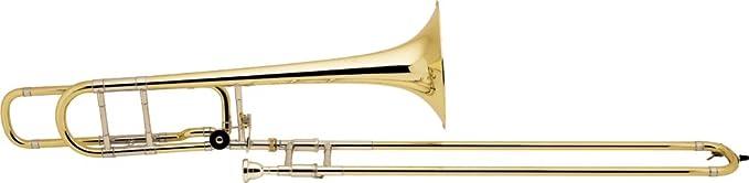 Bach 42BO Stradivarius Series F-Attachment Trombone Lacquer Gold Brass Bell Lightweight Slide