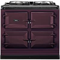 AGA ADC3G Dual Control 39 Inch Wide 4.26 Cu. Ft. Slide In Dual Fuel Range with S, Aubergine
