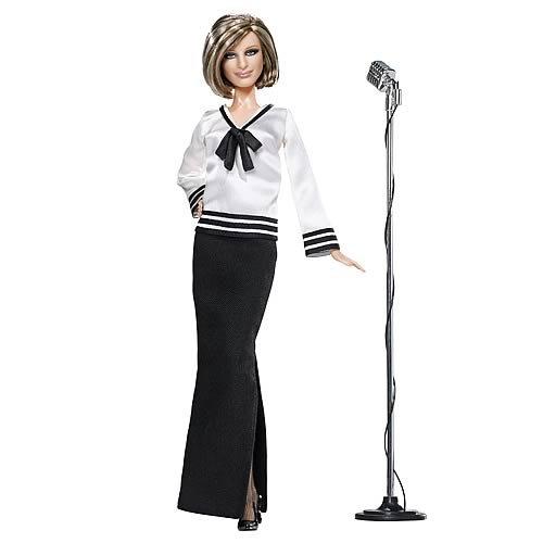 411d1OqgioL - Mattels Pink Label Barbra Streisand Collector Barbie Doll