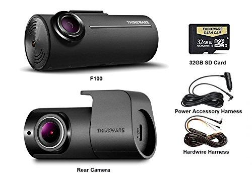 Thinkware F100 32GB Kit w/Rear + Hardwire