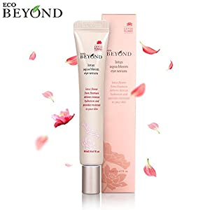 [Eco Beyond] Lotus Bloom Eye Serum, Natural Anti Aging Tightening Gel - Eyelid and Eye Area Care with Hyaluronic Acid - 20mL/0.68 Oz