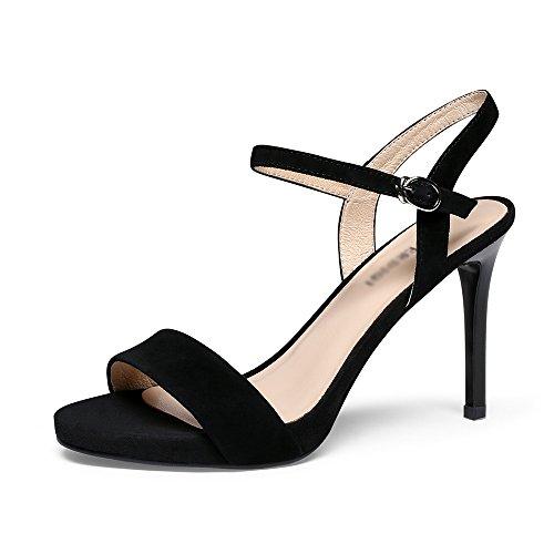 punta moda 37 caviglia dimensioni donna da tacco alla B cinturino estivi Colore aperta a spillo Sandali GYHDDP A 8Pzqpp