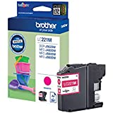 ORIGINAL Brother Cartouche d'encre Magenta LC221M LC-221~260 Pages 3.9ml