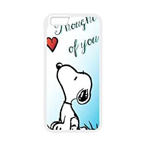 iphone6 4.7 inch Phone Case White Charlie Brown and Snoopy ZGC414189