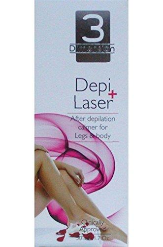 depi Laser Plus permanente Depilación, anti Cuerpo Crecimiento Bálsamo para cabello y piernas, 30