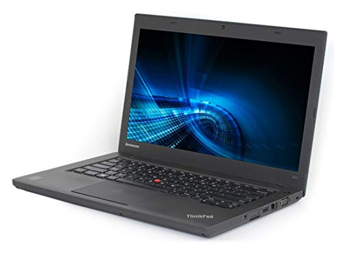 Laptop Lenovo ThinkPad T440 i5-4300U, 4 GB RAM 500GB HDD, CAM, 14″ Win 10 Pro (Reacondicionado)