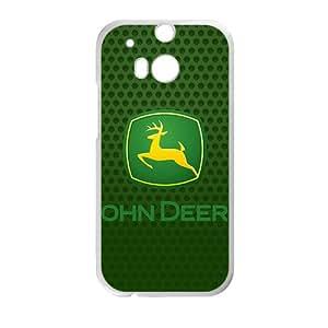 John Deere logo Case Cover For HTC M8 Case