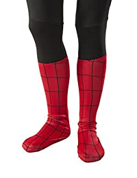 Rubies Costume Ultimate Spiderman Child Sock Style Boot Covers