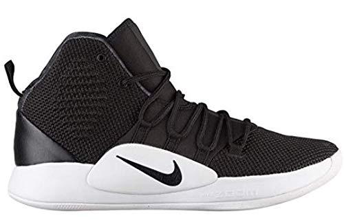 Nike Men's Hyper Dunk X(Team) Basketball Shoe,Black/Black-White, 13 (Men Nike Basketball Shoes Hyper)