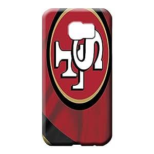 samsung galaxy s6 edge Shock-dirt Skin phone Hard Cases With Fashion Design phone case cover san francisco 49ers nfl football