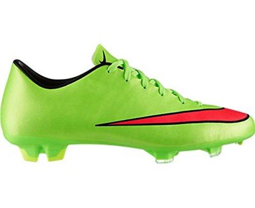 Nike  Mercurial Victory V FG - Zapatillas de fútbol para Hombre - verde y negro (electric green/hyper punch-black-volt)