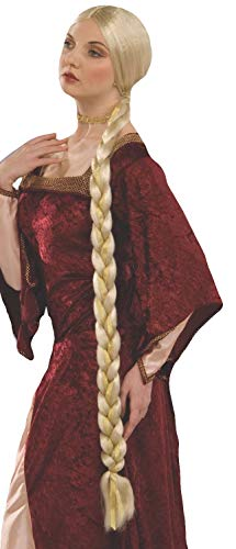 Blonde Long Wig With One Braid - Forum Novelties Women's Adult Extra Long