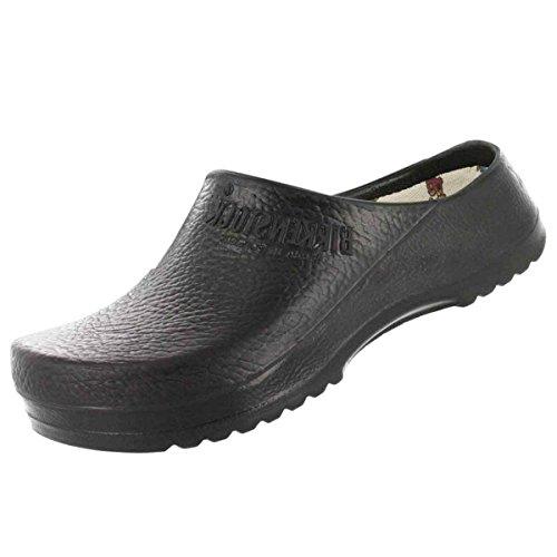 Super Birki Comfort Cork Footbed Clog Black 38 M EU (Alpro Clogs)