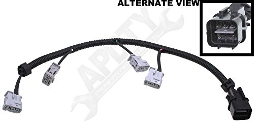 apdty 112845 ignition coil pigtail connector complete