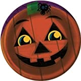 Halloween Pals Pumpkin Dinner Plates