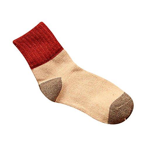 Sattaj 1 pair 2016 New vintage Winter Thermal Cashmere women Socks Women girl winter Warm Wool Socks Women's Thicken cashmere Socks (S5) (Kids Cashmere Collection)