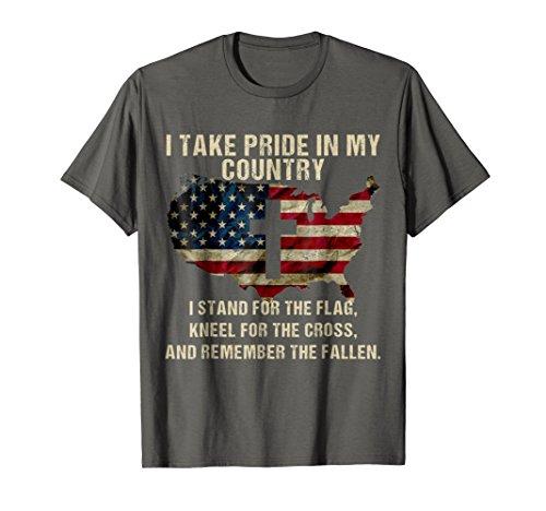 American Pride: Patriotic American Flag T-shirt