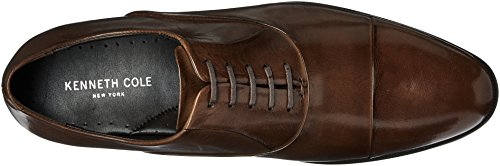 discount extremely outlet real Kenneth Cole New York Men's Command Chief Cap Toe Shoe Oxford Brown really websites cheap online original cheap price mRHByIuif