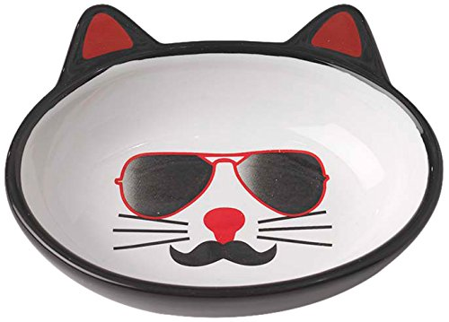 Pet Rageous Mon Ami 5. Oval Pierre Bowl, 5