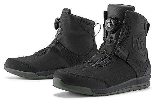 Patrol 10 5 Riding 2 Waterproof Icon Black Boots ZFwdxq