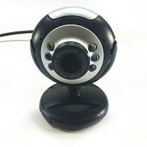 SciencePurchase 6 LED USB Webcam Camera W/Mic for Desktop PC Laptop - Megapixel WebCamera by Science Purchase (Image #3)