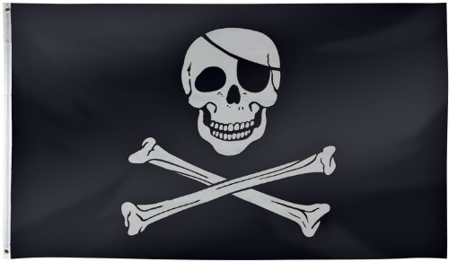 Skull and Crossbones Pirate Flag