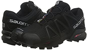 Salomon Men's Speedcross 4 Trail Runner, Black A1u8, 10 M Us 9