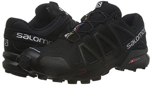 Salomon Men's Speedcross 4 Trail Runner, Black A1U8, 7.5 M US by Salomon (Image #10)