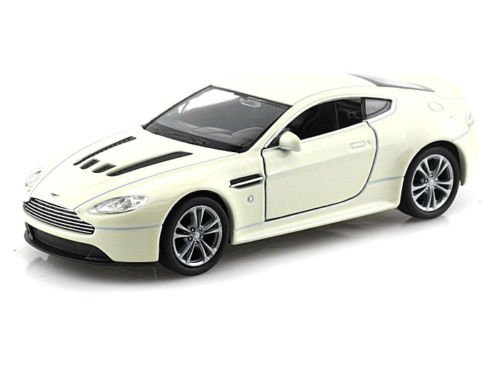Collection Vantage (NEW 1:32 DISPLAY WELLY COLLECTION - WHITE ASTON MARTIN V12 VANTAGE Diecast Model Car By Welly)