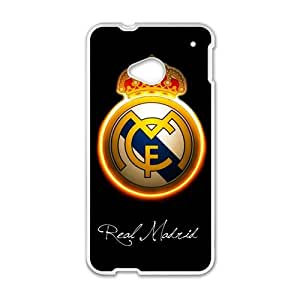 Happy The Real Madrid Cell Phone Case for HTC One M7
