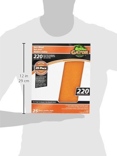 ALI INDUSTRIES 4223 sandpaper-sheets 9 x 11