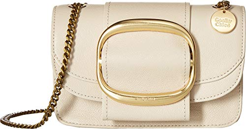 See by Chloe Women's Hopper Small Crossbody Cement Beige One Size ()