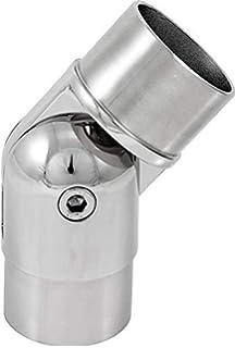 V2A Edelstahl Fußstütze Modell 300 für Rohr 42,4 mm