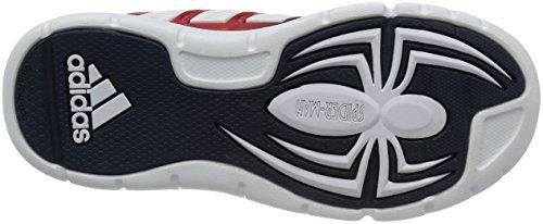 adidas Jungen Marvel Spider-Man K Turnschuhe Rojo (Rojpot / Ftwbla / Maruni)