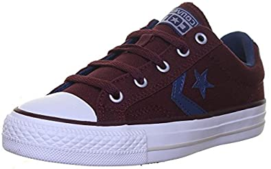 Converse Cons Star Player Navy Canvas Trainers Size UK 3
