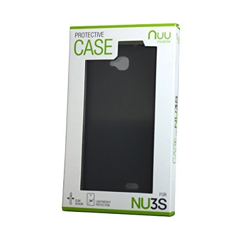 NUU Mobile NU3S Protective Case, Black