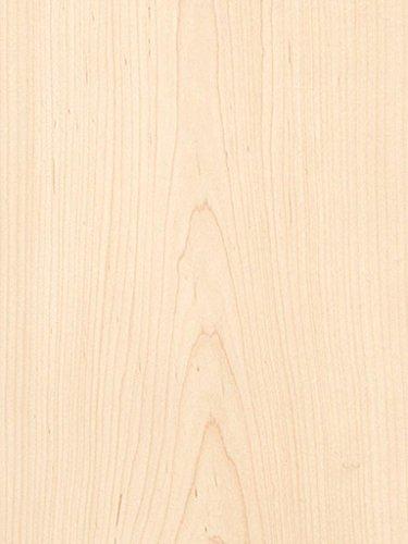 WHITE MAPLE Plain Sliced Veneer 4'X8' 10 mil. Paper Backer