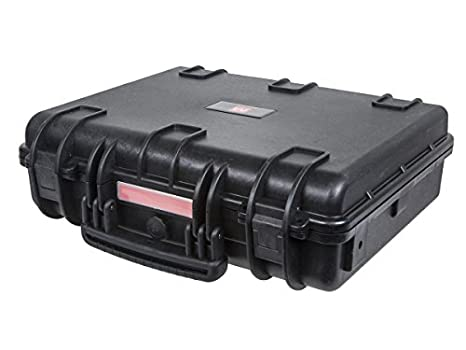Monoprice Weatherproof/Shockproof Hard Case - Black IP67 Level dust and Water Protection up to 1 Meter Depth with Customizable Foam, 10' x 8' x 4' 10 x 8 x 4 112680