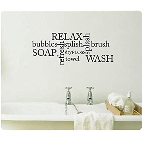 Wall Decals For Bathroom Amazoncom - Wall decals bathroom